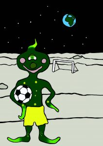 football on the moon image 3