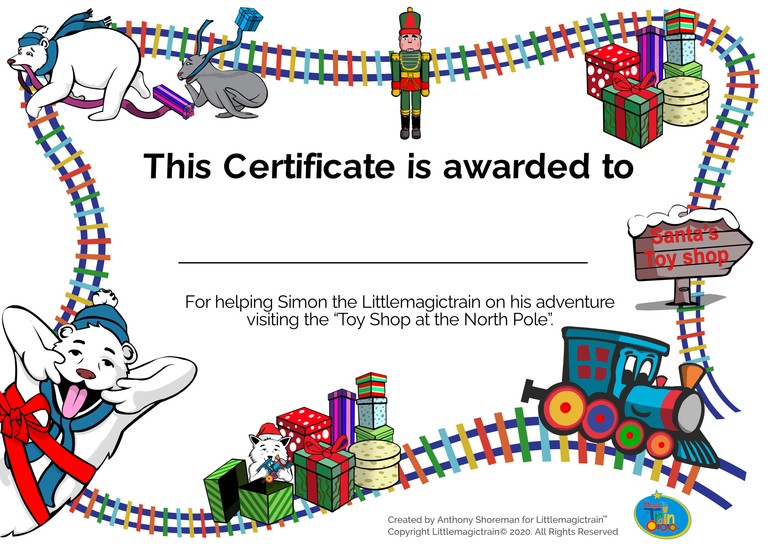 Certificate-Session-19-Toy-shop-at-the-North-Pole-English